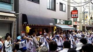高円寺阿波おどり koenji awa odori 2011