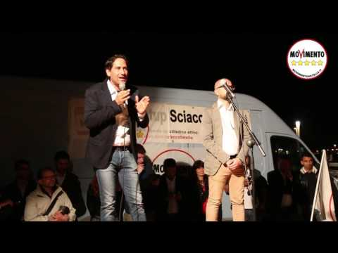 Mangiacavallo Matteo - Evento M5S Amministrative 2017 Stazzone