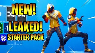 *NEW* LEAKED SUMMIT STRIKER SKIN WITH NEW DANCE EMOTES! Fortnite Battle Royale