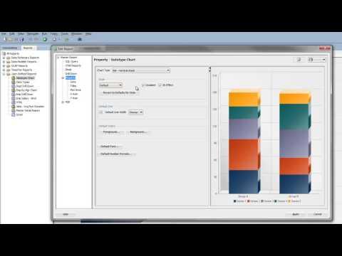 SQL Developer 4.0 - Chart Reports
