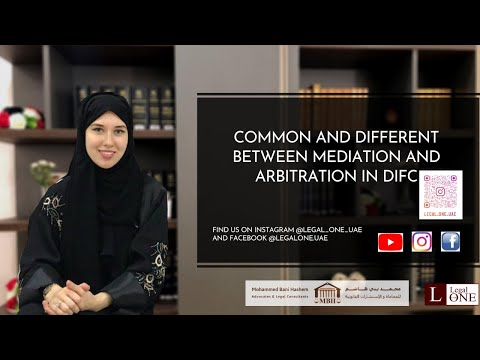 Diversity of Mediation and Arbitration in DIFC