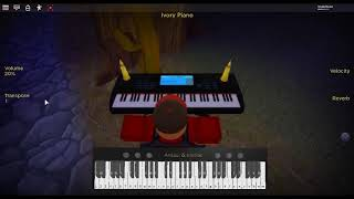 Pure Imagination - Willy Wonka & the Chocolate Factory by: Gene Wilder on a ROBLOX piano.