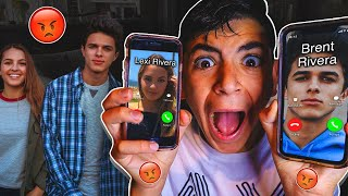 DO NOT CALL BRENT RIVERA AND LEXI REVERA AT THE SAME TIME!! *THEY BROKE INTO MY HOUSE!*