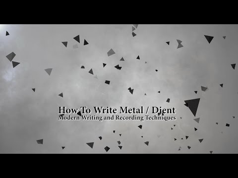 How To Write Metal / Djent: Modern Writing Techniques For Guitarists in Logic Pro