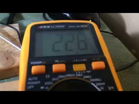 1500w Xenon Flash Tube at 1 Hz