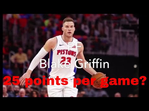 2019/2020 Detroit Pistons Starting/Bench Expected Stats Predictions