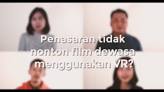 Nonton Bokep Pakai VR? (Up Close With Dinda)