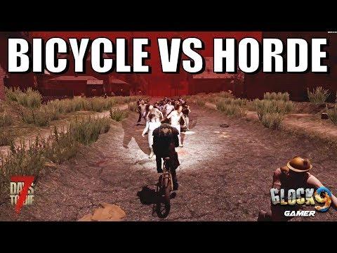 7 Days To Die - Bicycle VS Horde