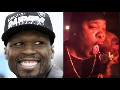 50 Cent Clowns Busta Rhymes With Embarrassing Video Of Busta Trying To Drink A Soda Out Of Straw