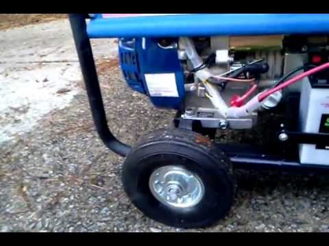 chicago electric 6500 watt 13hp generator raleigh, nc youtube