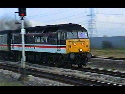 Vintage footage at Severn Tunnel Junction 1993.