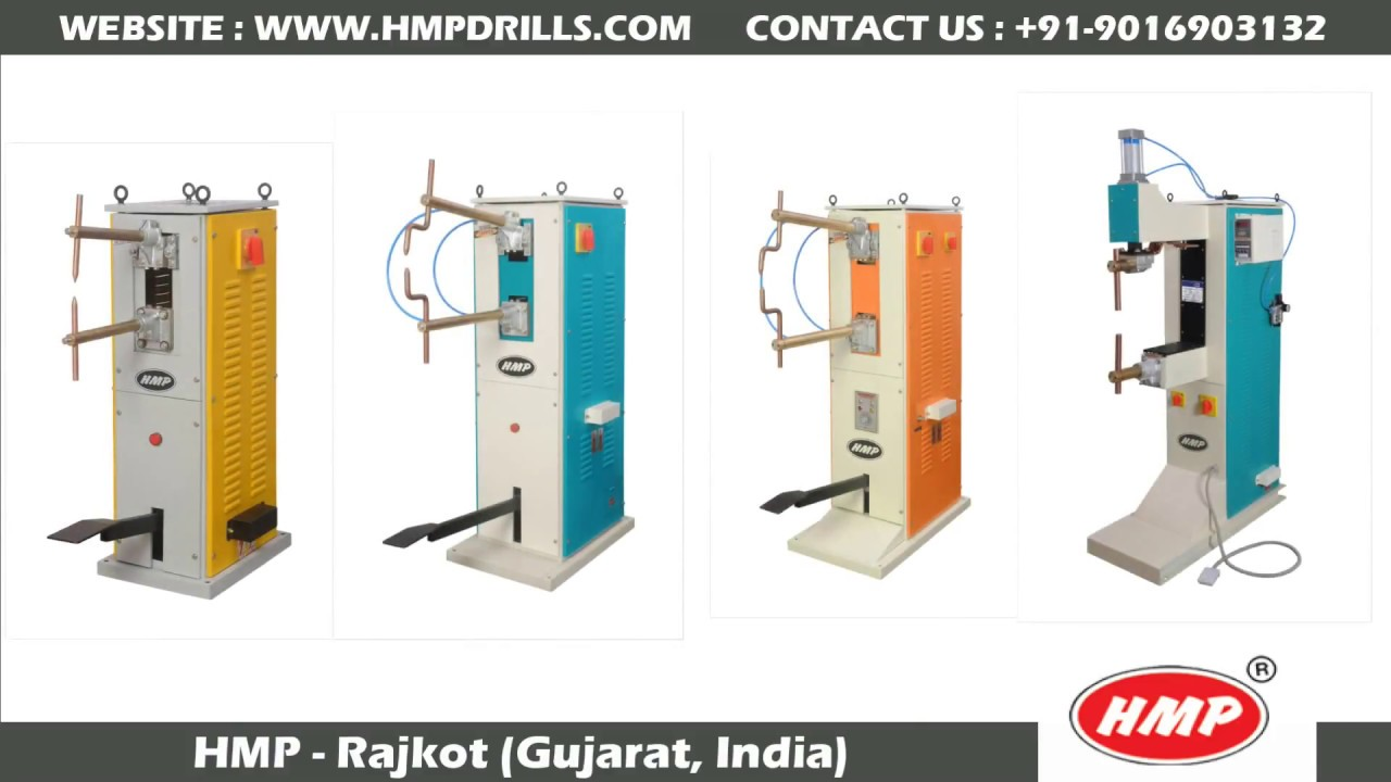 HMP Make Spot Welder | Spot welding machine | Rajlaxmi Machine Tools Rajkot  Gujarat INDIA