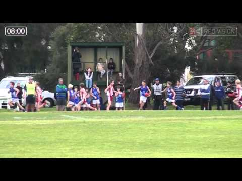SMJFL 2014 UNDER 11 EAST MORDIALLOC BRAESIDE V PRAHRAN RED