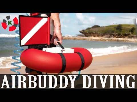 New Invention: AirBuddy Diving - Easier, Dive Without SCUBA Tanks