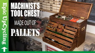 Machinist's Tool Chest Made From Scrap Pallets