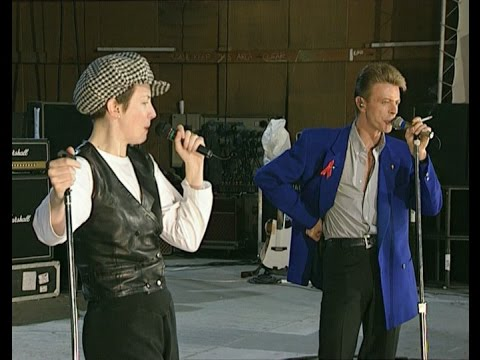Queen, David Bowie & Annie Lennox - Under Pressure. Rehearsals, April 1992