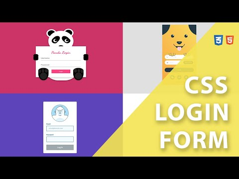 Top 20 Creative Animated Login Form In HTML & CSS