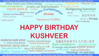Kushveer   Languages Idiomas - Happy Birthday