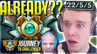 DID I GET MASTERS ALREADY?????? PROMOS END ft. TYLER1 - Journey To Challenger   League of Legends