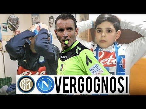 VERGOGNOSI! INTER NAPOLI 1-0 | LIVE REACTION NAPOLETANI