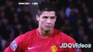 Cristiano Ronaldo -  Mejor tiro libre en Manchester United [HD]