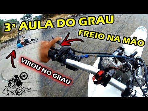 AULA 3 FREIO NA MAO / VIROU NO GRAU  -  (Zoi do Grau)  Imortal Stunt