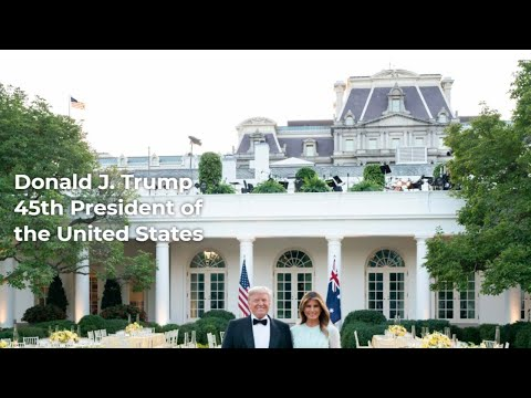 Trump launches his own website, 45office.com