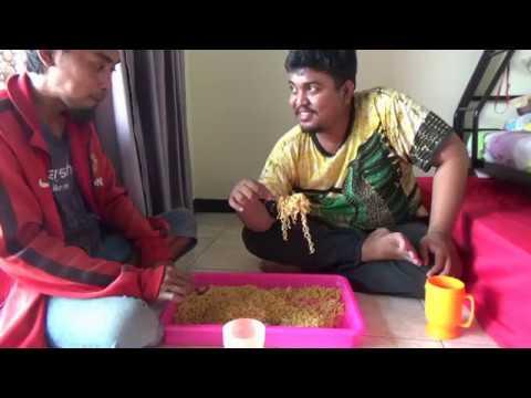 #mukbangindomie MUKBANG | 15 BUNGKUS INDOMIE GORENG | INDOMIE GORENG CHALLENGE