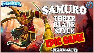 Grubby | Heroes of the Storm - Samuro - Three Blades Style - TL - Battlefield of Eternity