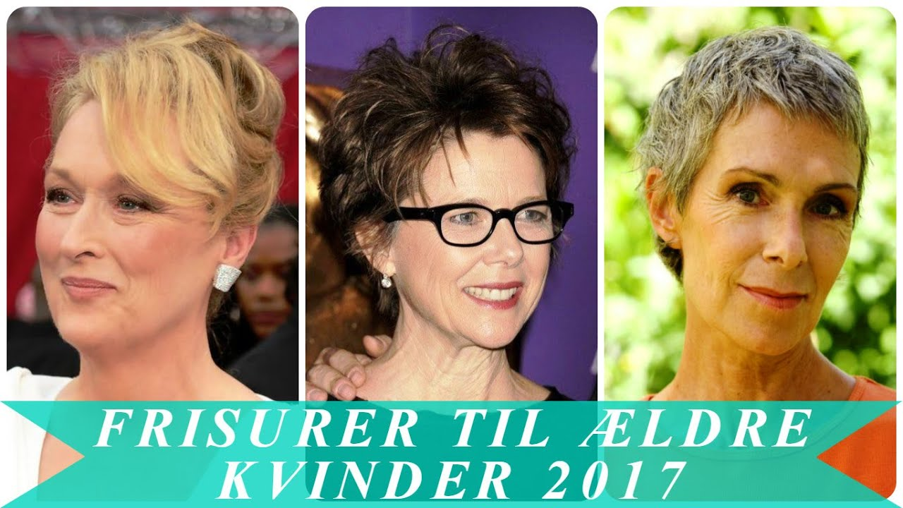 kort hår til ældre kvinder