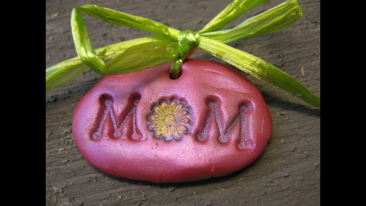mom charm mother s day gift idea craft tutorial youtube