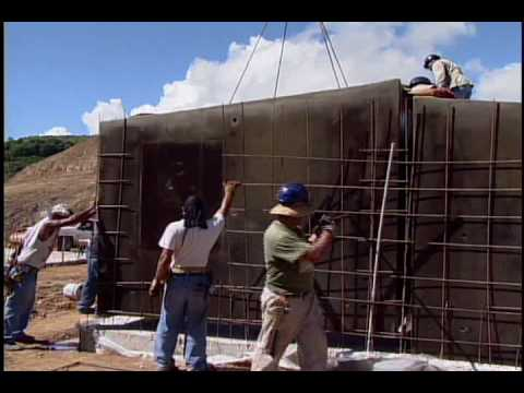 Efficient steel reinforced concrete homes - PAD Systems