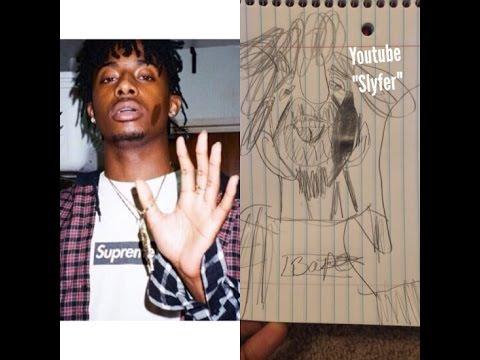 How to draw Playboi Carti