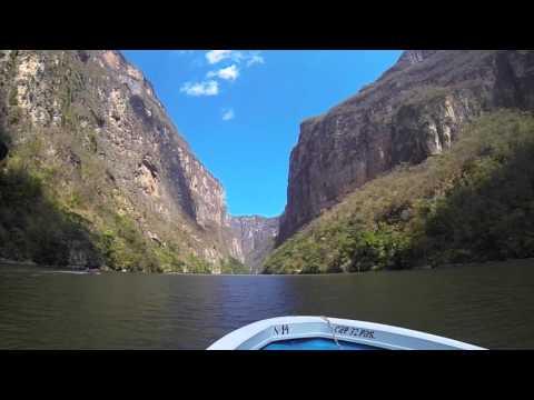 Sumidero Canyon Chiapas boat tour