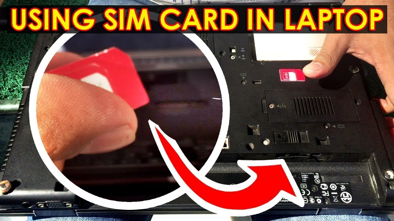 Using Sim Card For Internet On Laptop Without Mobile Phone
