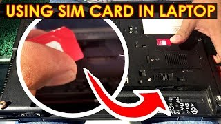 Using SIM Card for Internet on Laptop without Mobile Phone or USB Cable or Wi-Fi