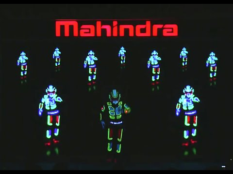 Interactive Dance Show India Mahindra XUV 500 Launch in New Delhi by Skeleton Dance Crew
