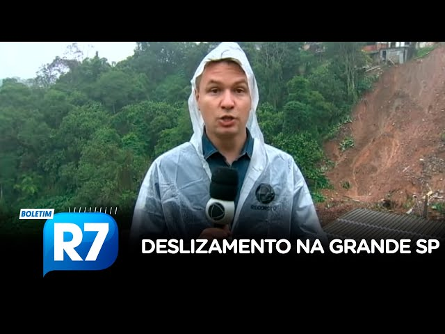 Deslizamento deixa 4 mortos em Ribeirão Pires (SP)
