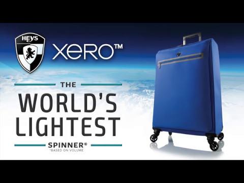 Heys XERO - World's Lightest Spinner Luggage