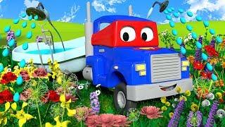 Грузовик садовник - Трансформер Карл в Автомобильный Город 🚚 ⍟ детский мультфильм