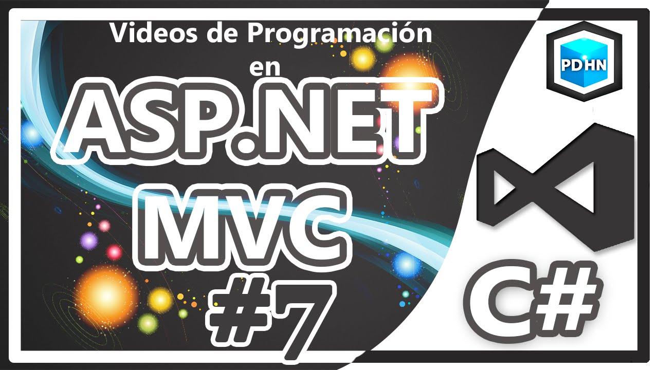 Curso de ASP NET MVC en C# Validaciones #7 - YouTube