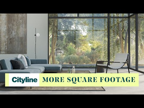 One design solution to create the illusion of more square footage