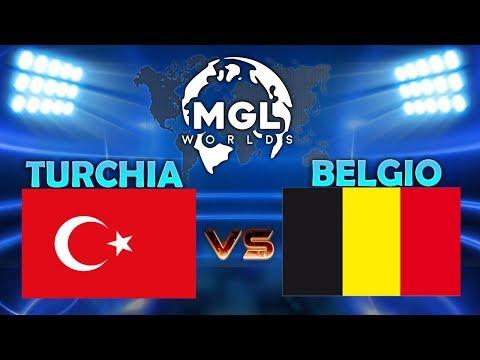 TURKEY vs BELGIUM fase 1 MGL WORLDS | CLASH ROYALE ESPORTS
