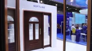 Входные двери из профиля VEKA Softline (Века Софтлайн)(Купить пластиковые двери VEKA Softline в компании