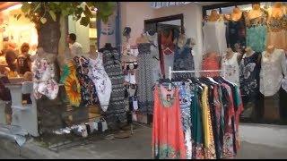 Отдых в Болгарии  Шопинг по Созополю  Bulgaria  Shopping in Sozopol