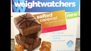 Weight Watchers: Salted Caramel Brownie Bliss Review