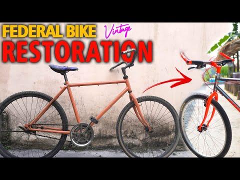 VINTAGE BIKE RESTORATION | FEDERAL CYCLE MUSTIKA