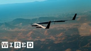 Inside Facebook's Quest to Beam the Internet Via Solar Drone | WIRED
