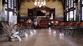 Vintage inspired trouwen op prachtig station Haarlem