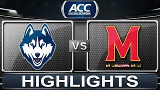 2013 ACC Basketball Highlights| UCONN vs Maryland | ACCDigitalNetwork